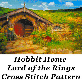 Hobbit Cross Stitch Pattern: Lord of the Rings