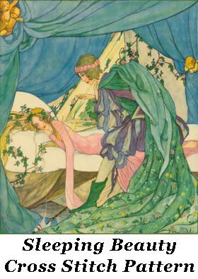 Sleeping Beauty Cross StitchPattern