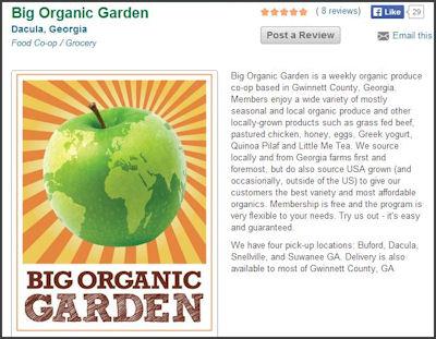 big organic garden