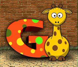 G Is For Giraffe 250