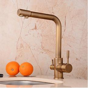 Superb Installing A Brass Kitchen Faucet
