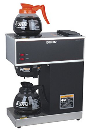 if you work in a commercial setting or brew coffee all day long at the workplace the bunn vpr2gd commercial 12cup pourover coffee brewer is a wonderful