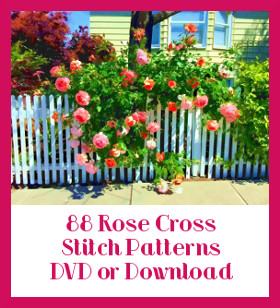 Roses Cross Stitch Patterns