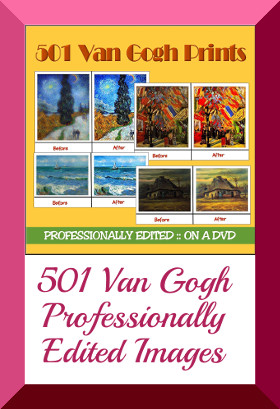 Van Gogh Graphic Images