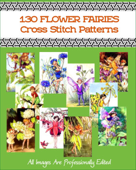 Flower Fairy Cross Stitch Patterns