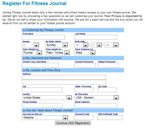 fitness trackers fitness journal blissplan com