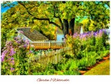 "Custom ""Garden"" Cross Stitch Pattern - Download"