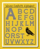 Unusual Woven Confetti Printable & Digital Alphabet