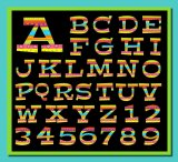 Gloriously Wild Digital and Printable Alphabet and Numbers