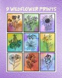 "9 Printable Watercolor Wildflower Art Prints With A BONUS 10th Print: 8"" x 10"" Glossy Prints"