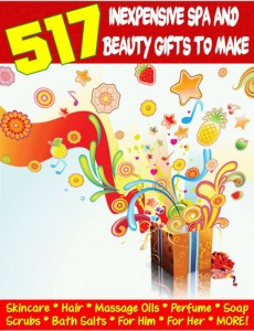 DIY 517 Inexpensive Spa and Beauty Gifts To Make At Home