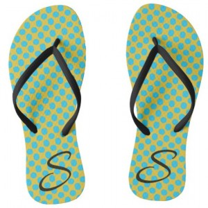 How To Design Your Very Own Personalized Polka Dotted Flip Flops: For Women, Kids, Toddlers (And Even The Guys)