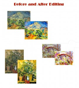 147 Professionally Edited Cezanne Images on a DVD