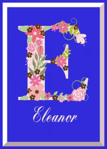 Floral Alphabet Cross Stitch Pattern Collection To Personalize - Or Not