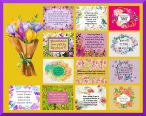 "40 Gratitude Printable Quotes Collection: 8"" x 10"" Digital Downloads"