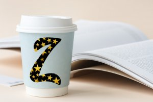 3 Modern Digital & Printable Alphabets: Black, Gold, Black with Gold Stars